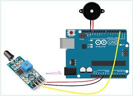 arduino flame sensor interface arduino flame sensor connection