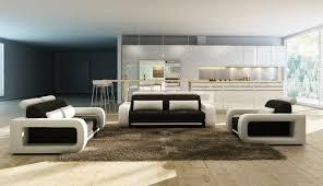 Stylish design furniture Dining Divani Casa 1005b Modern Black And White Bonded Leather Sofa Set Stylish Design Furniture Stylish Design Furniture Divani Casa 1005b Modern Black And White Bonded Leather Sofa Set