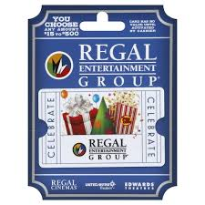 Regal Entertainment Group Gift Card 15 To 500 From Acme
