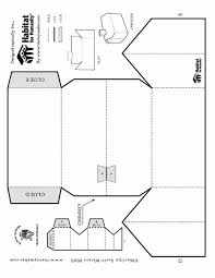 Foldable Printable Paper House Templates Patterns Stencils Free