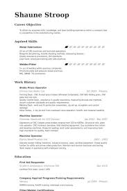 Power Plant Operator Resume Examples Resume Sample