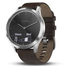 skip to the beginning of the images gallery details garmin vivomove hr smarch brown leather