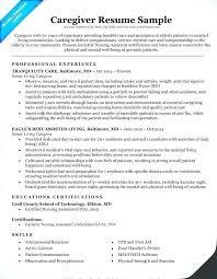 Daycare Resume Samples Interesting Child Care Resume Sample No Experience Australia Samples Caregiver