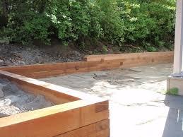 backyard landscaping backyard garden wall