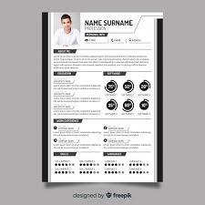 Modern Resume Templete Modern Resume Template Vector Free Download