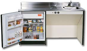 refrigerator unit. 60 inch wheelchair accessible compact kitchen unit with cooktop and undermount refrigerator freezer compartment