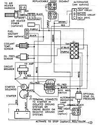 starter crank fuel solenoid wiring circuit