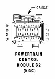 pcm wiring pin out diagram 04 ram Dodge 57 Hemi Wiring Diagrames