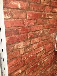 Red Wallpaper For Bedroom Bq Brick Wallpaper Master Bedroom Accent Wall Paint It Black
