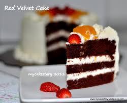 Red Velvet Cake Rvc Cake Story
