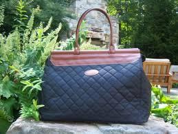 Stella & Bean & Quilted Black Weekender Bag Adamdwight.com