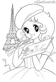 Kawaii coloring pages will appeal to girls and boys. Cute Girl Kawaii Printable Cute Coloring Pages For Girls Novocom Top