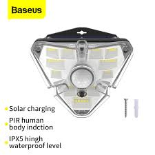 <b>Baseus LED Solar Light</b> Outdoor Solar Lamp PIR Motion Sensor ...