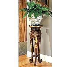 wood pedestal plant stand cherry wood plant stands wood pedestal plant stand wooden plant stands majestic wood pedestal plant stand