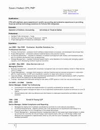50 Elegant Accounting Resume Examples Resume For Job