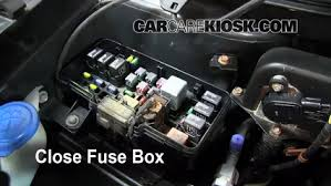 blown fuse check acura mdx acura mdx touring l v 6 replace cover secure the cover and test component