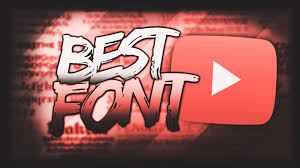 Best Font For Banner Design Best Fonts Pack For Youtube For Banners Headers Logos Free