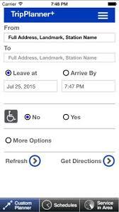 Tripplanner Com Mta Tripplanner On The App Store