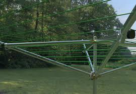 outdoor clothesline retractable design ideas