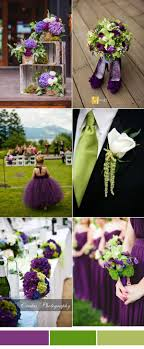 Purple and green wedding colors Lilac Purple And Green Wedding Color Palette Pinterest Most Popular Wedding Color Schemes From Pinterest To Your Wedding