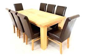 full size of oak wooden dining room chairs solid table reclaimed wood round 6 kitchen enchanting