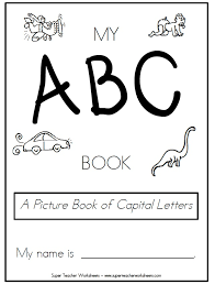 Printable Book of Capital Letters