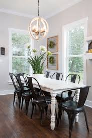 best idea of kitchen table light fixtures with black chairs
