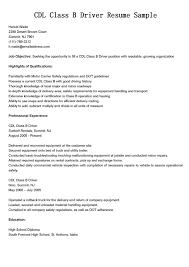 Dump Truck Driver Job Description Resume Free Resume Example And