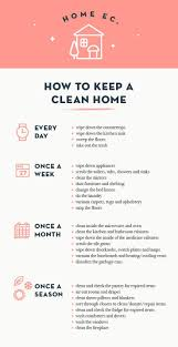 best ideas about house cleaning lists household home ec how to keep a clean home design sponge