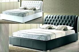 Double Bed Linen Headboard Cover Padded Cushion Beds Impressive With ...