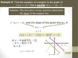unit 2 lesson 3 tangent line problems