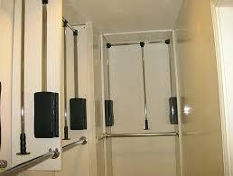 how to hang a closet rod closet hang rod height double hang closet rod