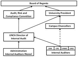 Audit Structure Chart University Of Nebraska Administration Organizational Chart