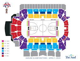 Rangers Seating Chart Seating Charts The Aud