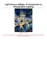 A Bridge To Light Ebook Download Ebook Light Science Magic An Introduction To