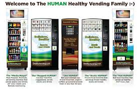 Human Vending Machines Impressive HUMAN Healthy Vending Machines Buy Organic Vending Machines