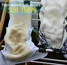 got cloth diaper stains try these methods