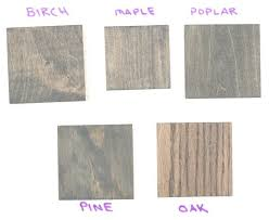Varathane Classic Wood Stain Color Chart Grey Wood Stain Colors Sample Showdown