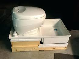 shower and toilet combo unit sink units airstream