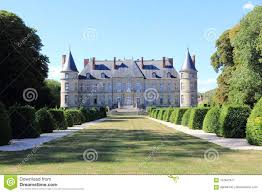 Castle Of Haroué In Lorraine Stock Image - Image of lamour, craon ...