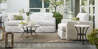 outdoor white furniture. brilliant white lounge ii petite outdoor slipcovered collection and white furniture