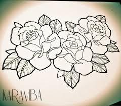 роза тату эскиз 14 роза цветы растения природа тату эскизы