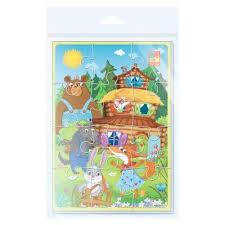 <b>Vladi</b>-<b>Toys Мягкие пазлы</b> А5 1103-68 Теремок | игрушки по ...