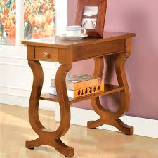 furniture of antique oak side table with storage drawer end tables drawers small oak end tables