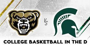 Michigan State Basketball Arena Seating Chart Oakland University Vs Michigan State University College