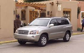 2003 Toyota Highlander - Information and photos - ZombieDrive