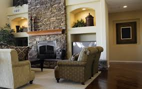 charming living room and home interior decoration with various fireplace insert surround interactive image of