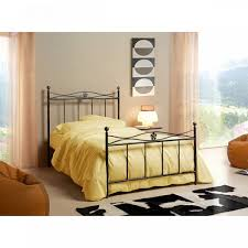 Vintage Italian single bed with headboard Alex by Cosatto Letti, high  quality wrought iron bedroom