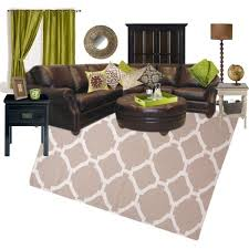 Green And Brown Living Room To Create Your Own Pretty Living Room Home Design  Ideas 9