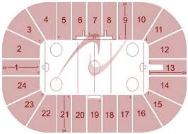 Gopher Hockey Seating Chart Mariucci Arena Seating Chart Mariucci Arena Venue Map